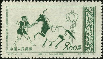 Stableman and horse (Western Wei)