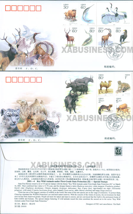 Key Wild Animals under First-Grade State Protection in China(II)