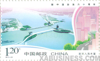 Huaihe River Outfall Waterway Project