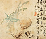 Fruits. Chinese painting, Li Shan