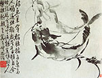 Siluroid, Chinese painting, Li Fangying