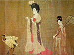 Beauties Wearing Flowers (Tang Dynasty)