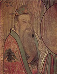 One Disciple of Laozi , mural